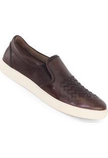 Sapatênis Meu Sapato All Star Tressê Mouro Masculino - Masculino-Marrom