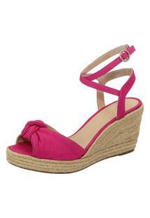 Sandalia Clave De Fa Anabela Pink