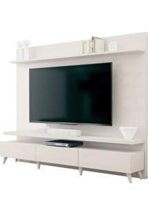 Estante Home Para Tv 60 Polegadas Boss Off White