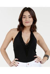 Body Feminino Renda Frente Única Marisa
