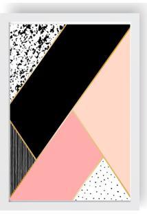 Quadro Love Decor Decorativo Com Moldura Geometrico