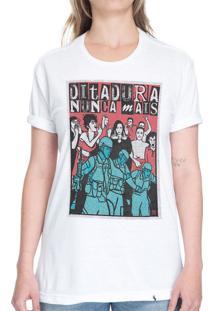 Ditadura Nunca Mais - Camiseta Basicona Unissex