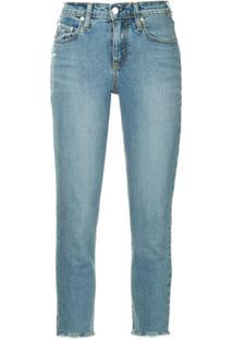 Nobody Denim Calça Jeans Midi - Azul