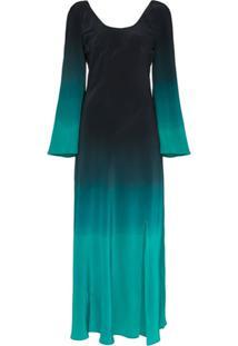 Rixo Ivy Dip-Dye Maxi Dress - Azul