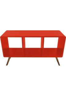 Estante Horizontal Bery - Vermelho - Tommy Design