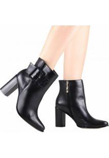 f202e2a76 Ankle Boot Com Salto Luz Da Lua feminina | Shoelover