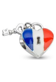 Pingente Life Coração Francês