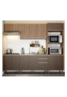 Cozinha Completa 05 Peças Cook 9004 Madeira Oxid Be Mobiliario