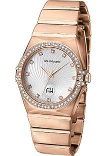 Relógio Champion Analógico Ah28188Z Feminino - Feminino-Dourado