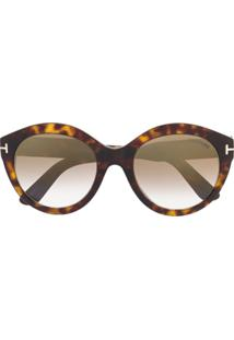 Óculos De Sol Oversized Tom Ford feminino   Shoelover 34c3b7103c