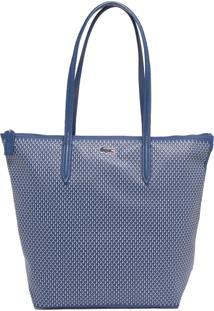 f257db1ba5f ... Bolsa Lacoste Geométrica Azul