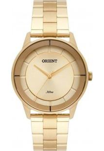 Relógio Orient Feminino Fgss0108 K1Kx - Feminino-Dourado