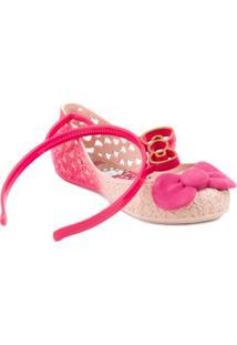 Sapatilha Grendene Hello Kitty Glitter - Feminino