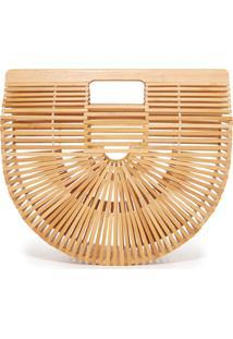 Bolsa De Mão De Bambu