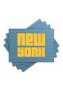 Jogo Americano - New York Com 4 Peças - 512Jo