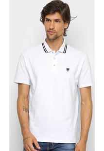 Camisa Polo Cavalera Básica Bordado Masculina - Masculino