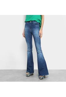 ... Calça Jeans Flare Colcci Cintura Média Feminina - Feminino-Jeans ef73e38734b