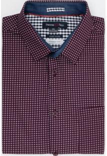 Camisa Manga Curta Classic Fit Estampado