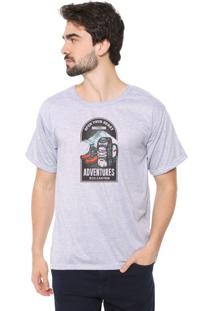 Camiseta Eco Canyon Open Your Heart Cinza