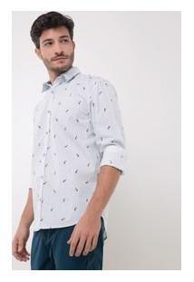 Camisa Slim Tricoline