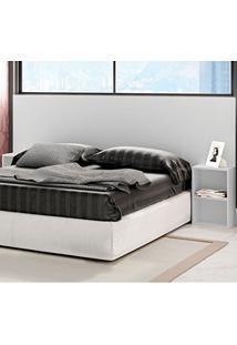 Cabeceira Casal Cama Box 138 E 158 Cm 3000 Branco - Araplac