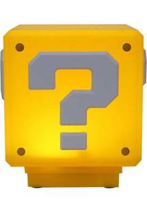 Luminária Bloco Interrogação Super Mario Bros