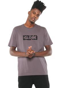 Camiseta Globe Fleck Lilás
