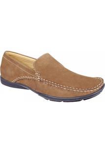 Sapato Masculino Loafer Sandro Moscoloni San Jose Marrom Claro