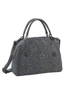 Bolsa Feminina Chenson Jeans Star Mão 3682536
