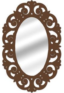 Espelho De Parede 14879I Marrom 70X100 Art Shop