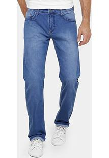 Calça Jeans Reta Forum Paul Indigo Masculina - Masculino