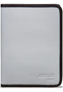 Carteira Artlux Porta Passaporte Off-White