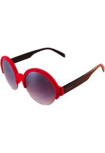 Óculos De Sol Hashtag H881178 Vermelho