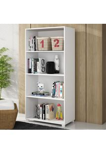 Estante Para Livros Blumenau Pa 52 Branco - Brv Móveis