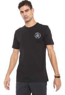Camiseta Rusty Triplex Preta