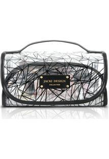Necessaire Rocambole Jacki Design Pvc - Feminino