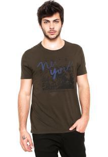 Camiseta Calvin Klein Jeans New York Preta