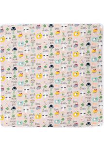 Fendi Kids Cobertor 'Fendi Fun' - Neutro