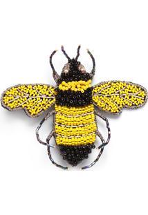 Broche Betina - Amarelo