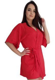 Robe Feminino Liganete - Feminino-Vermelho