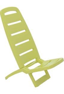 Cadeira Dobrável Guarujá Basic Verde
