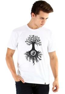 Camiseta Ouroboros Manga Curta Árvore Da Vida - Masculino