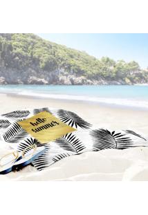 Toalha De Praia / Banho Hello Summer