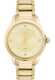 Relógio Technos Crystal 2035Mfr/4X 2035Mfr/4X - Feminino-Dourado