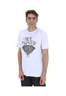 Camiseta Rusty Silk Neil Diamond Sb - Masculina - Branco