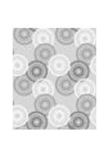 Papel De Parede Adesivo Decoração 53X10Cm Cinza -W22570