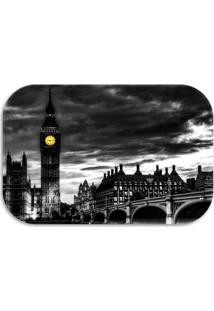 Tapete Decorativo Wevans London 40Cm X 60Cm Preto - Preto - Dafiti