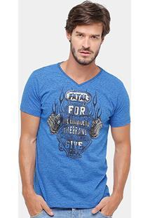 Camiseta Fatal Slim Fit Masculina - Masculino