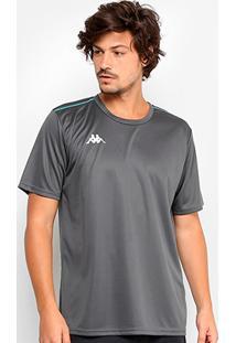 Camiseta Kappa Romena Masculina - Masculino