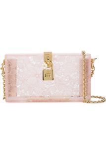 Dolce & Gabbana Bolsa Clutch 'Dolce Box' - Neutro